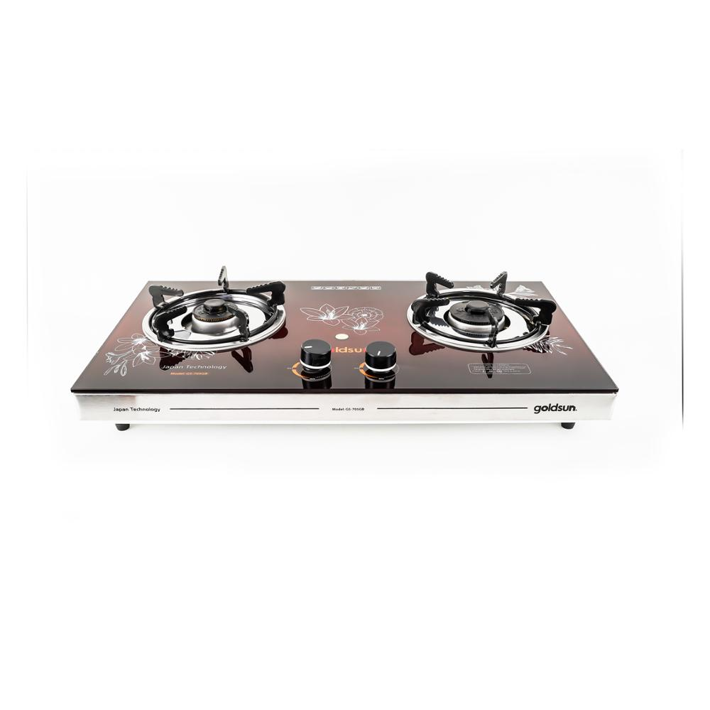 2019 New !!! High quality stainless steel kitchen gas stove (GOLDSUN) GS-705GB